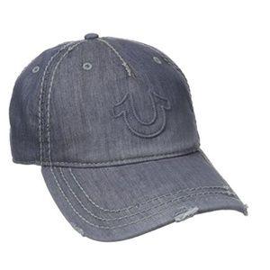 True Religion Grey Hat Cap Unisex New